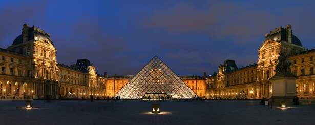 Centralizada, Pirâmide é um dos pontos mais nobres do Louvre (conexaomundo.com.br)