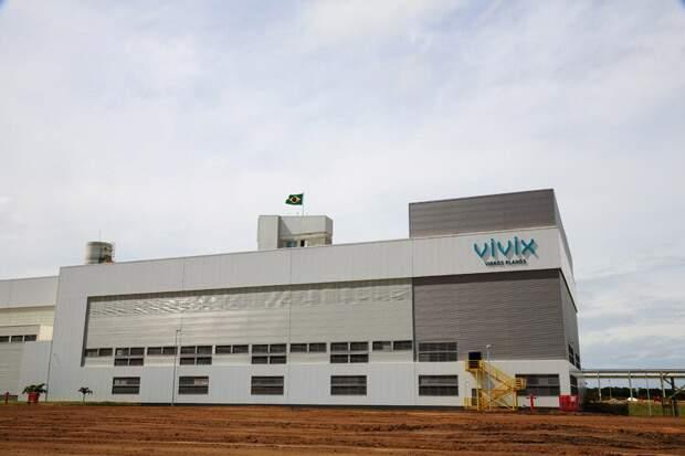 Fábrica da Vivix Vidros planos, localizada em Goiana (PE).