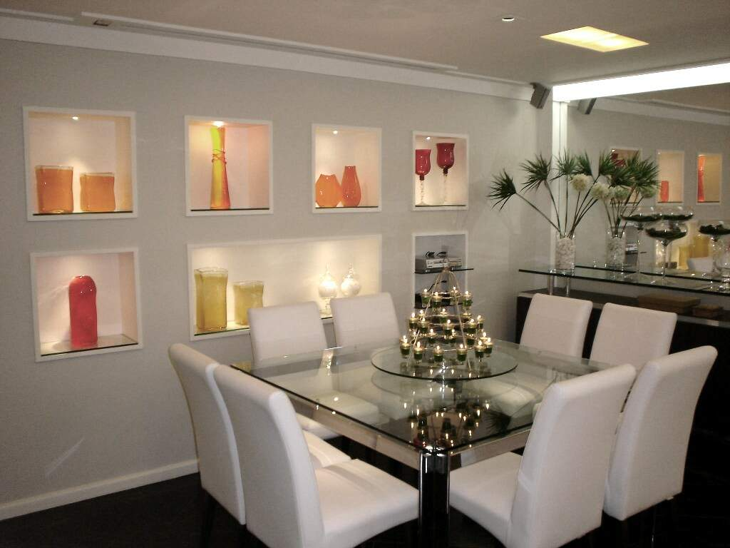#A89523  sala de jantar. – Anavidro – Associação Nacional de Vidraçarias 1024x768 píxeis em Decoração De Sala De Jantar Com Lareira