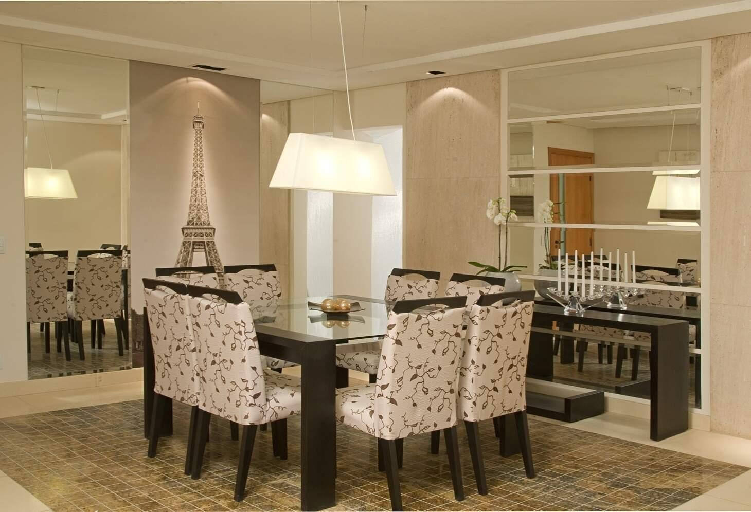 Confira Algumas Dicas Que A Anavidro Separou Para Investir Em  -> Sala De Jantar Com Espelho E Aparador