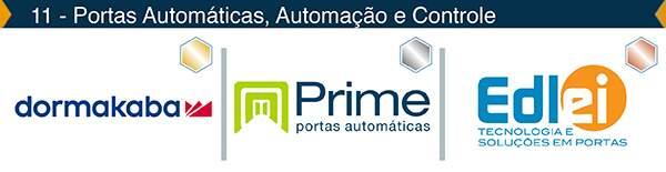 Portas Automáticas -  – Ouro: Dormakaba, Prata: Prime Portas, Bronze: Edlei